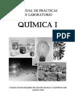 Manual de Practicas de Laboratorio Quimica I