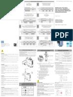 WEG Installation Instructions Instrucciones de Instalacion Instrucoes de Instalacao Erwt Mf1 10001620530 En