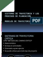 Sistemas de Trayectoria y Los Procesos de Planeación