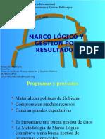 Presentacion Marco Logico