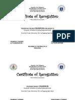 Un Certicicate 2019