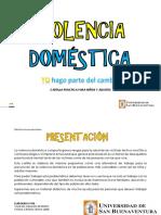 Cartilla Violencia Doméstica Cartilla Práctica Para Niños y Adultos