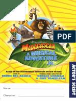 Madagascar Jr Actors Book 2
