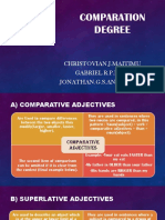 Comparation Degree