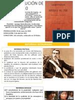 La Constitución de 1920 Perú