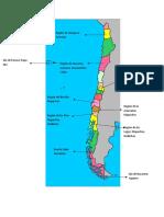 Mapa Pueblos Originarios Actualmente