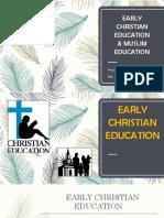Early Christian Education-1