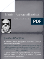 Matrix e a Filosofia - Slide