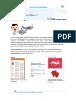 Word Es Software Que Permite Crear Documentos en Un Equipo