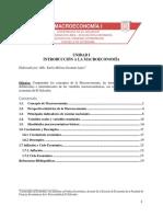 unidades de estudio de la macroeconomia