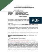 Acta Audiencia Moreno