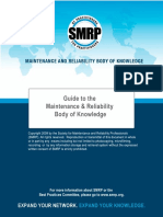 SMRP Guide to the Maintenance and Reliability Body of Knowledge