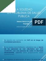 Soledad y Salud Publica