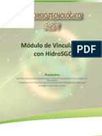 Módulo de Vinculación Con HidroSGC