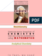 1.1. Mathematics in the Advancement of Chemistry