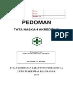 Cover Tata Naskah