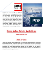 China Airline Information by Farecopy
