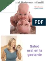 Salud Bucal Materno Infantil