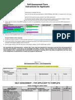 Self Assesment - APEGS-Civil Engineering