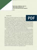 Resolución de Los Conflictos Entre La Protección de La Diversidad