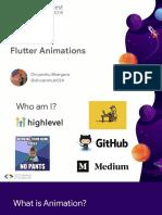 Flutter Animations
