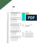Test de MOSS + Software HOJA_RESP._MOSS
