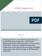 Flash Point Apparatus