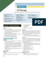 IV Therapy Lippincott Manual of Nursing Practice