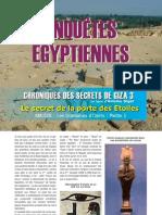 23162964 Chroniques Des Secrets de Giza La Porte Des Etoiles