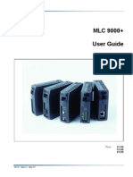 DANAHER - MLC9000 User Guide English