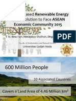 Biomass Based Renewable Energy as the Solution to Face AEC 2015