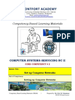 CSS NC II Core 2 Set-up Computer Networks Updated