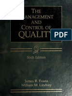 The Management and Control of Quality-1
