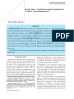 Comparison of Polarizing & Phase Contrast Microscopy for Estimation Of