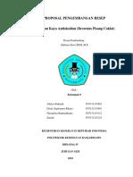 Proposal Pengembangan Resep Antioksidan Kel 8