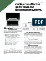 Microdata Marathon Disk Brochure Aug1979