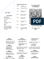Holy Week Brochure 2019