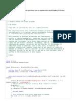 Serial & Modbus Example Example