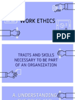 Traits and Skills to Be Part of an Organization