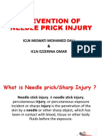 Needle Prick Injury & Prevention
