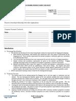 Forging Audit Checklist