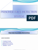 Prisoner face detecting system