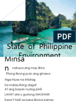 State of Philippine Environment