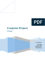 Conjoint Project