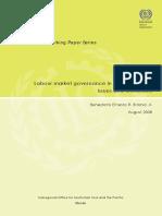 Labor market governance