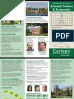 Actuarial Science Brochure