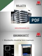 In Ambica Steels we kept Rhombodity 5mm maximum