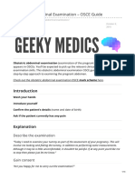Geekymedics.com-Obstetric Abdominal Examination OSCE Guide