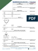 01. Riser (9th) (a-01) (2019 - 21) Jstse Full Syllabus Test