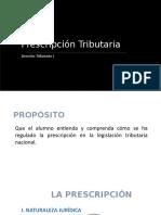 2018-4-26 Derecho Tributario I - UC - Sem. 5 y 6- Prescripciónnnn